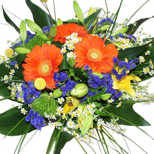 Букет Яркий восторг: букеты цветов на заказ Flowwow
