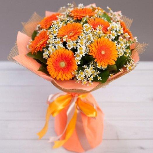 Сентябрьское солнце: букеты цветов на заказ Flowwow
