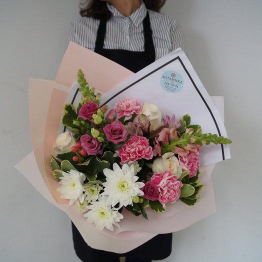 Охапка нежности : букеты цветов на заказ Flowwow