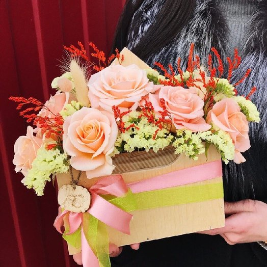 Письмо счастье : букеты цветов на заказ Flowwow