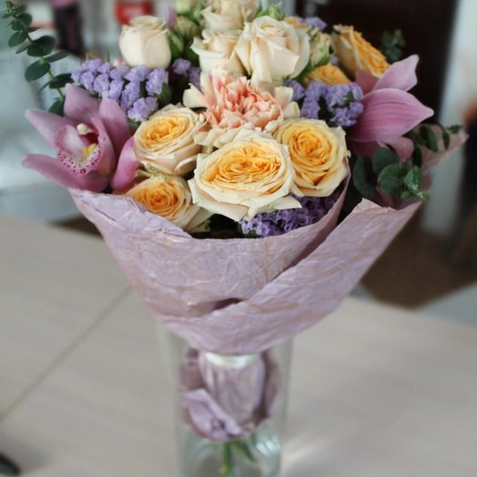 "Букет ""Легкий шарм"": букеты цветов на заказ Flowwow"