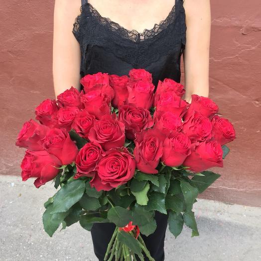 """31 роза """"Премиум"""": букеты цветов на заказ Flowwow"""