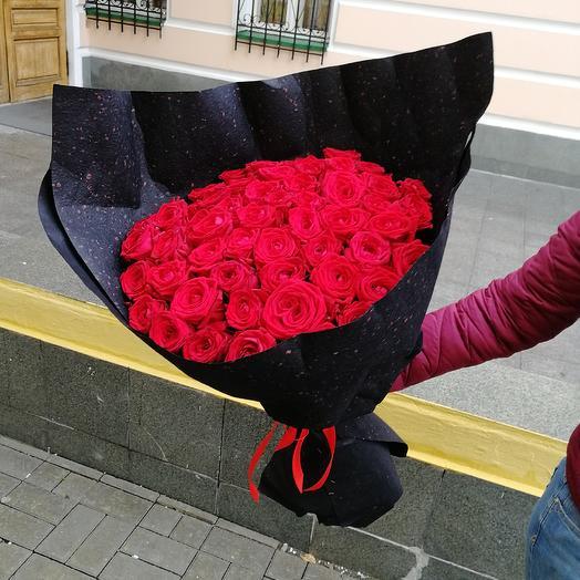 BLACK: букеты цветов на заказ Flowwow
