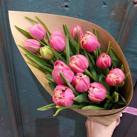 Просто Тюльпаны-красиво и лаконично: букеты цветов на заказ Flowwow