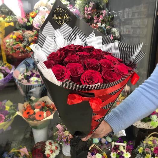 19 Роза: букеты цветов на заказ Flowwow