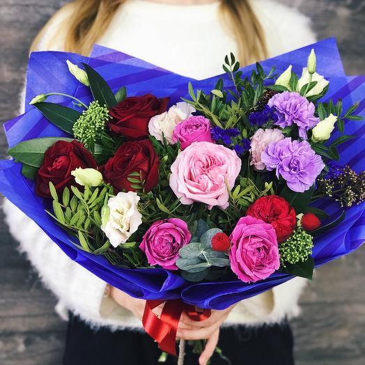 Букет - комплимент 5: букеты цветов на заказ Flowwow
