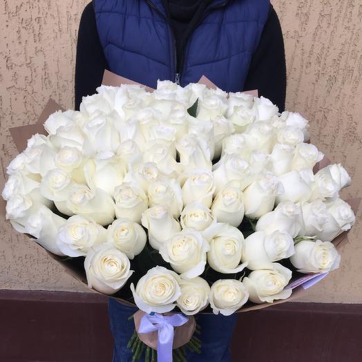 Роза- сорт Проуд: букеты цветов на заказ Flowwow