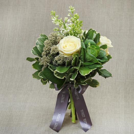 """Компактный букет """"Артемида"""": букеты цветов на заказ Flowwow"""