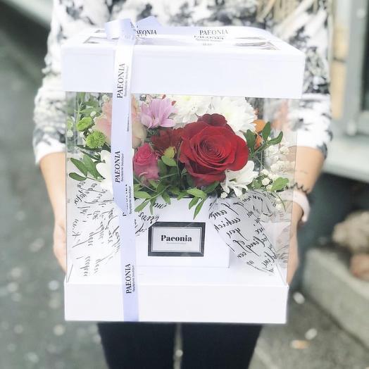 Коробка 31: букеты цветов на заказ Flowwow