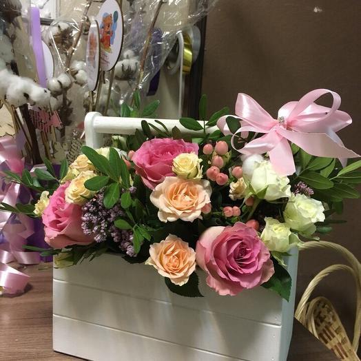 Ящик пандоры: букеты цветов на заказ Flowwow