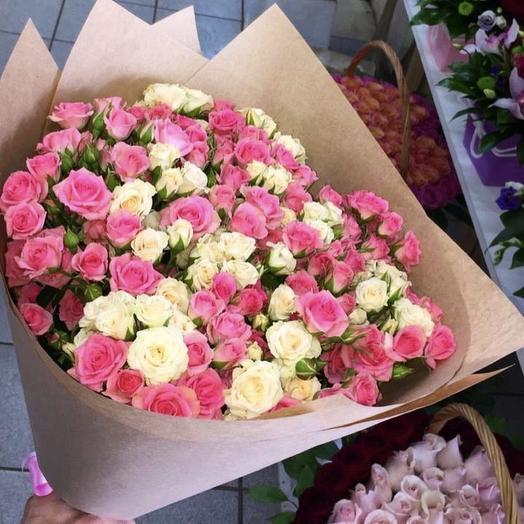 Кустовая Роскошь: букеты цветов на заказ Flowwow