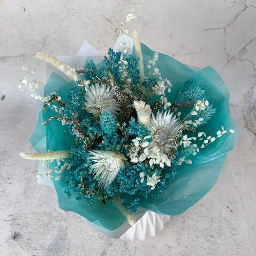 """Букет из сухоцветов """" Морской бриз"""": букеты цветов на заказ Flowwow"""