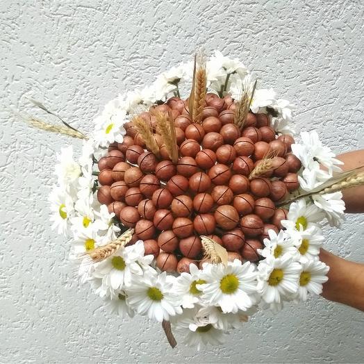 """Букет """"Крепкий орешек"""": букеты цветов на заказ Flowwow"""