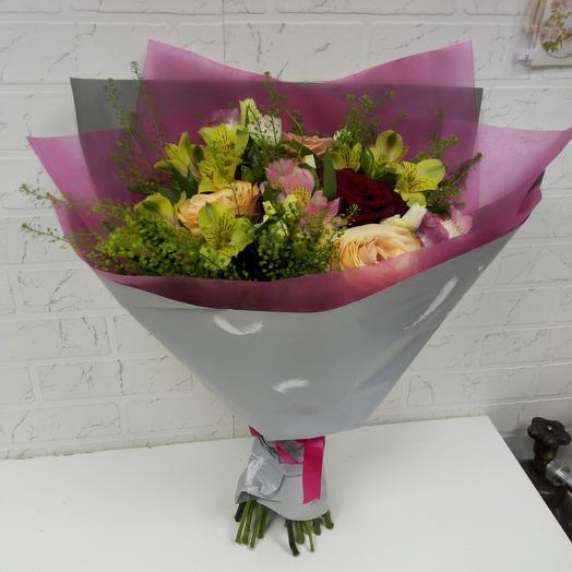 Букет с изюминкой: букеты цветов на заказ Flowwow