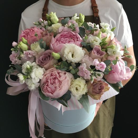 Коробочка дня - нежность: букеты цветов на заказ Flowwow