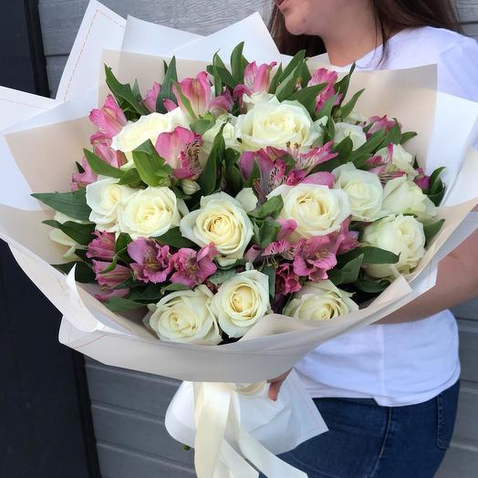 """Букет """"Нежный лепесток"""": букеты цветов на заказ Flowwow"""