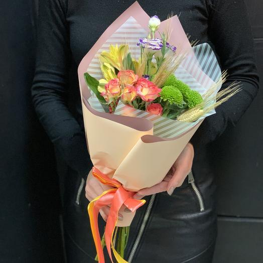 Букет комплимент «солнечное утро»: букеты цветов на заказ Flowwow