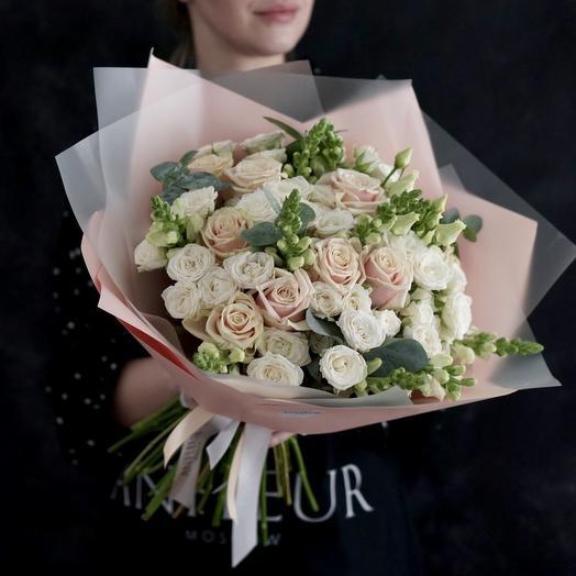 """Букет """"Прикосновение весны"""": букеты цветов на заказ Flowwow"""