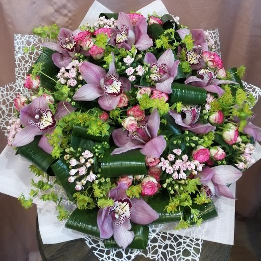 Весенняя симфония: букеты цветов на заказ Flowwow
