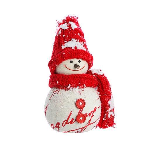Снеговичок с шарфиком: букеты цветов на заказ Flowwow