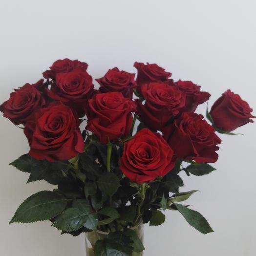 Охапка эквадорских роз