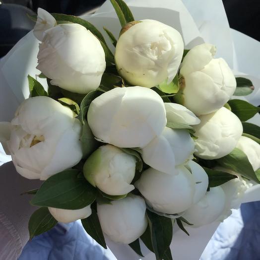 Ванильное мороженное: букеты цветов на заказ Flowwow