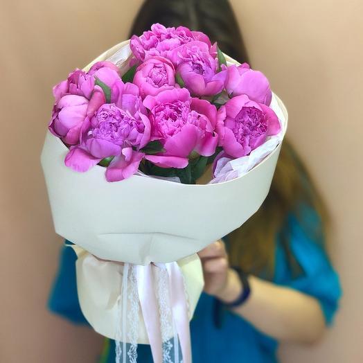 Пион розовый: букеты цветов на заказ Flowwow