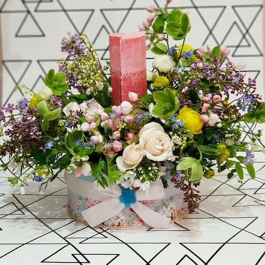 Сердечный подарок: букеты цветов на заказ Flowwow
