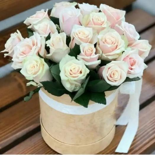 Коробка с розой