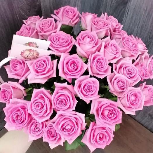 Mono bouquet of 35 roses