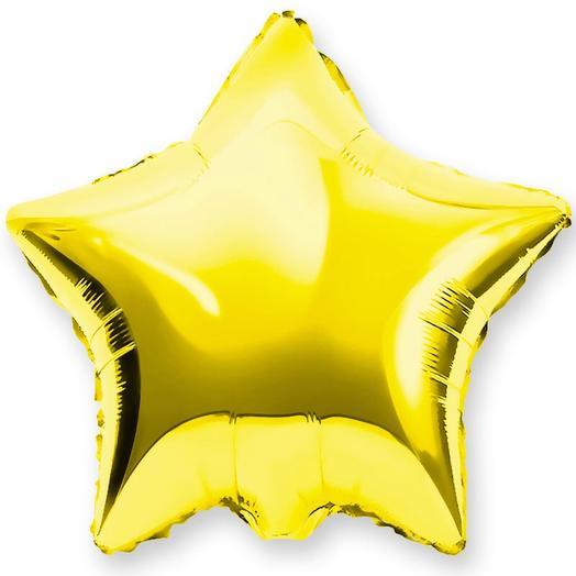 Шар «звезда» с гелием