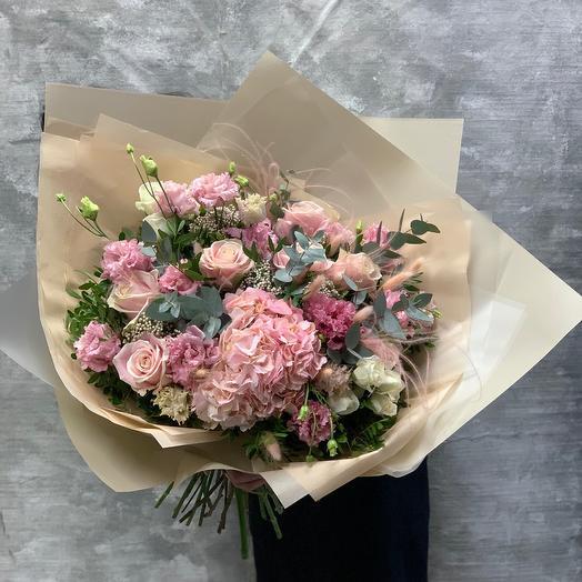 Букет «Розовая нежность»🌸🌸🌸