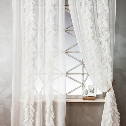 Комплект штор Иви Белый, 140х270 см - 2 шт