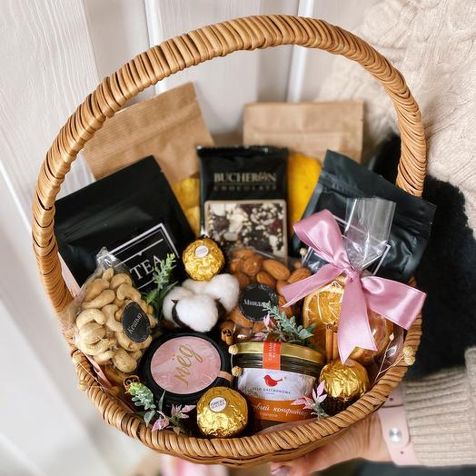Подарок в корзине «Корзина сладостей»