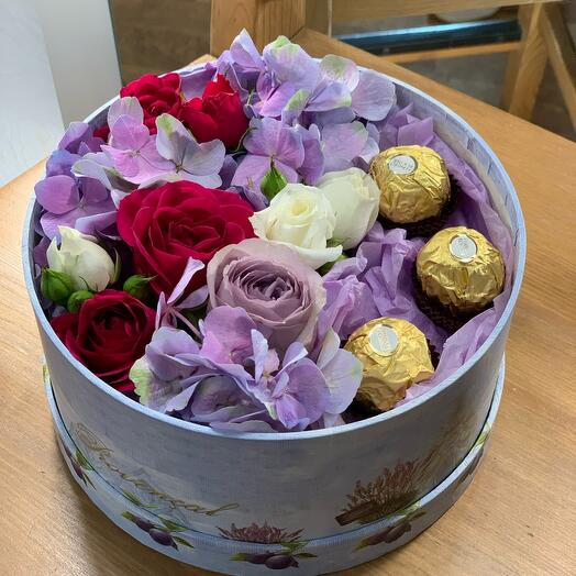 Коробочка с конфетками