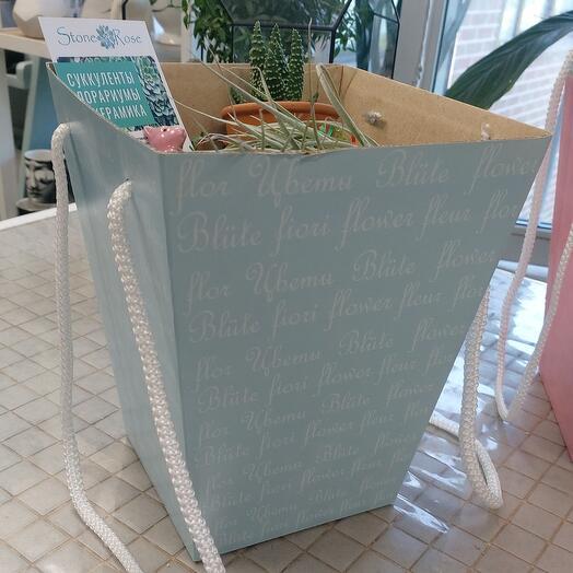 Коробка декоративная упаковочная