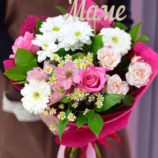 """""""Маме"""": букеты цветов на заказ Flowwow"""