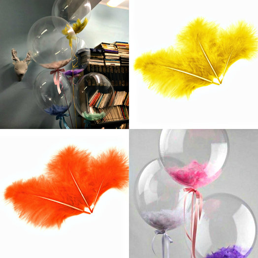 Воздушный Bubble шар прозрачный 61 см: букеты цветов на заказ Flowwow