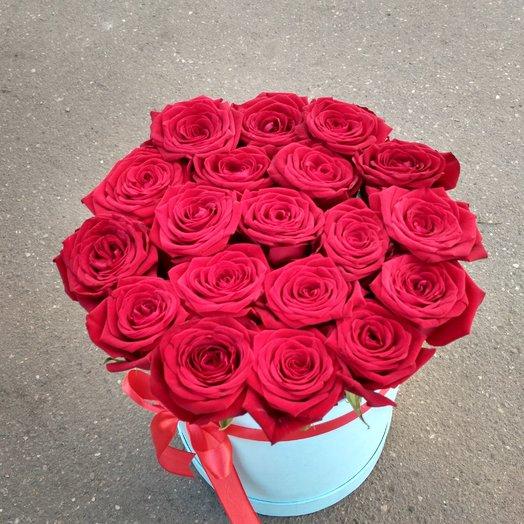 Роза и коробки: букеты цветов на заказ Flowwow