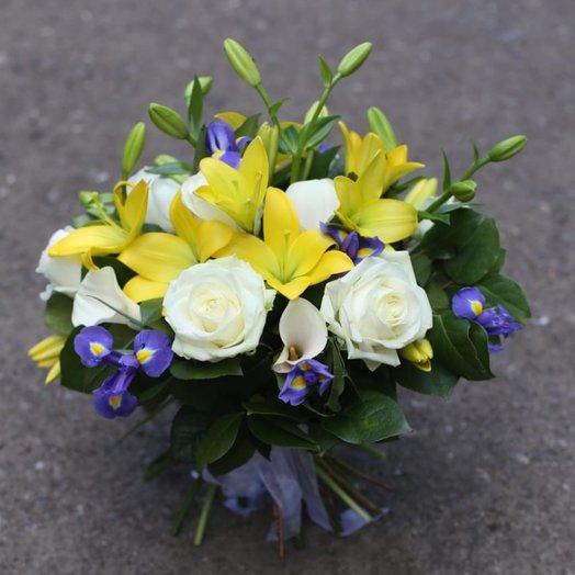 Лимонный и компания: букеты цветов на заказ Flowwow