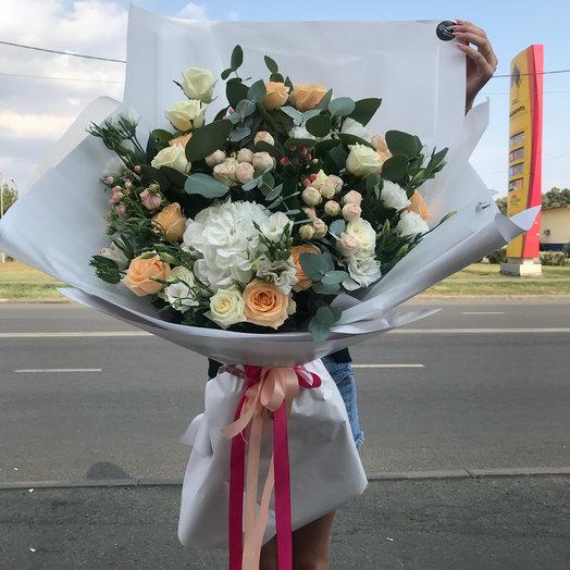 Микс гортензия: букеты цветов на заказ Flowwow