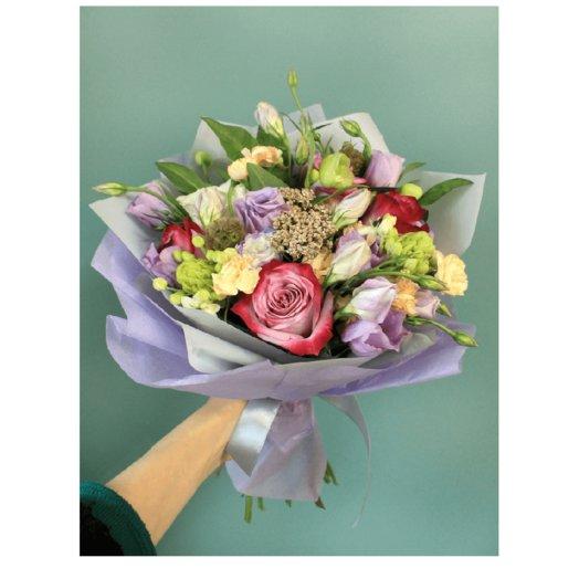 """Букет """"Яркая поляна"""": букеты цветов на заказ Flowwow"""