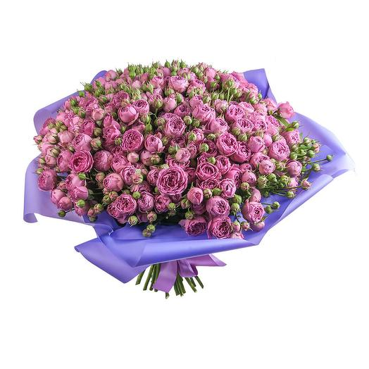 "51 роза ""Мисти бабблс"": букеты цветов на заказ Flowwow"