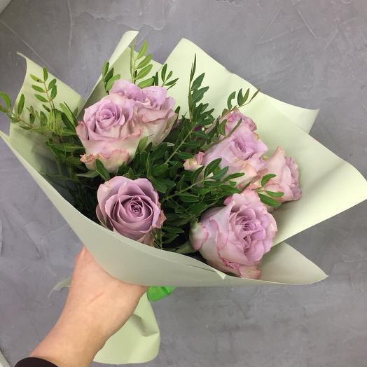 Букет розочек Первоклашке: букеты цветов на заказ Flowwow