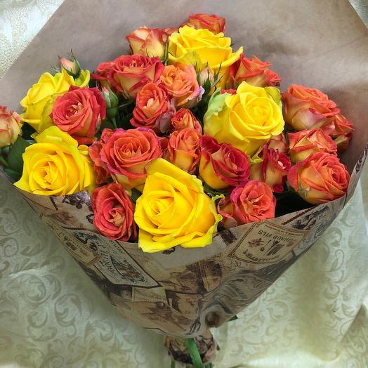 Букет «Радость»: букеты цветов на заказ Flowwow