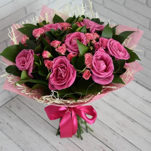 Малиновый джем: букеты цветов на заказ Flowwow