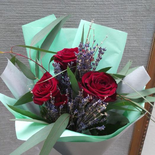 Аромат лаванды: букеты цветов на заказ Flowwow