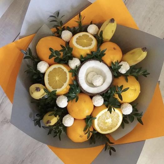 Букет из фруктов «Апельсинка»