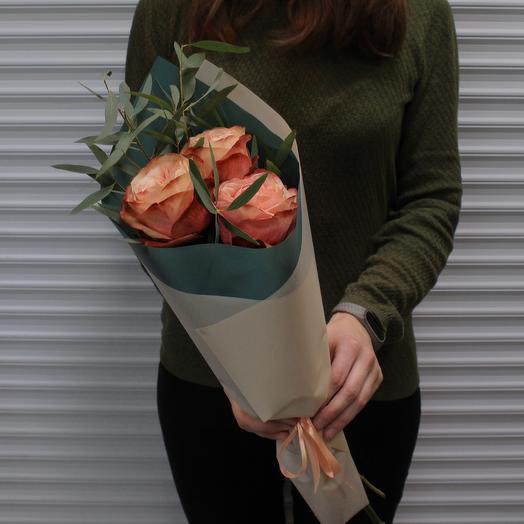 Букет «Тёплые чувства»: букеты цветов на заказ Flowwow