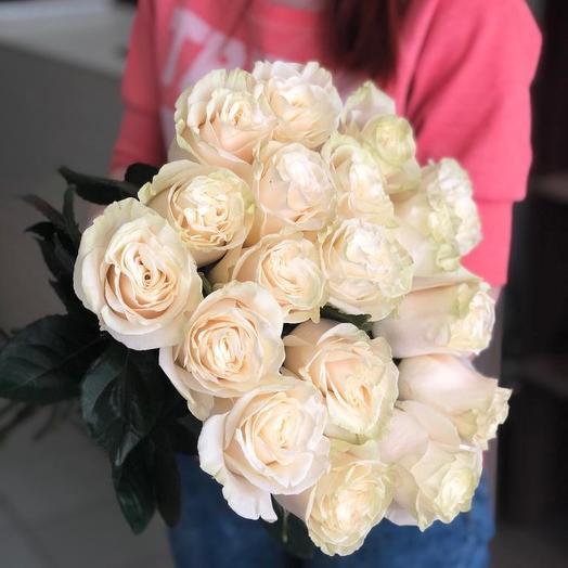 Роза мондиал 17шт: букеты цветов на заказ Flowwow